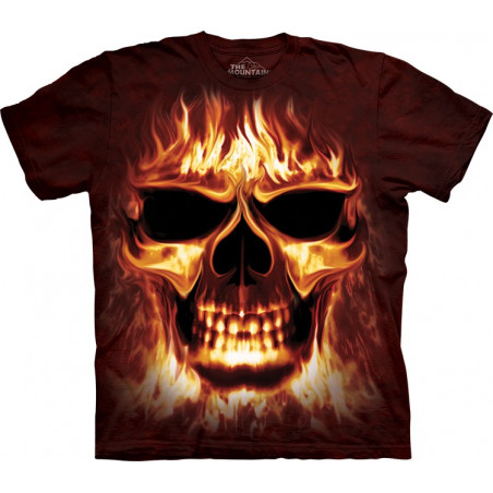 Cotton SkullFire T-Shirt