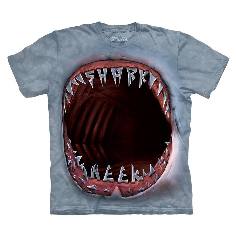 Shark Week Mouth T Shirt Clothingmonster Com