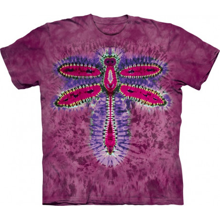 Dragonfly Tie-Dye T-Shirt The Mountain