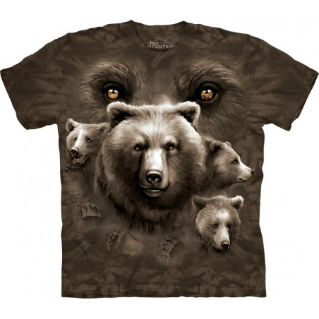 Bear Eyes T-Shirt The Mountain