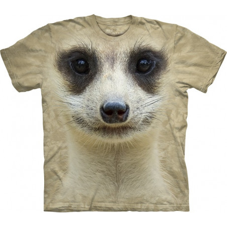 Meerkat Face T-Shirt The Mountain