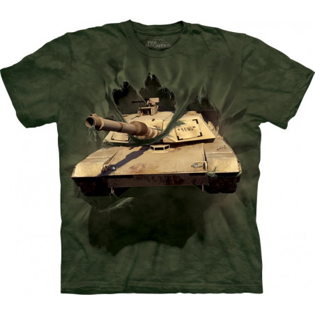 M1 Abrams Tank Breakthrough T-Shirt The Mountain