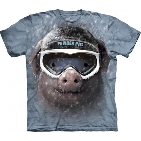 Funny Powder Pig T-Shirt