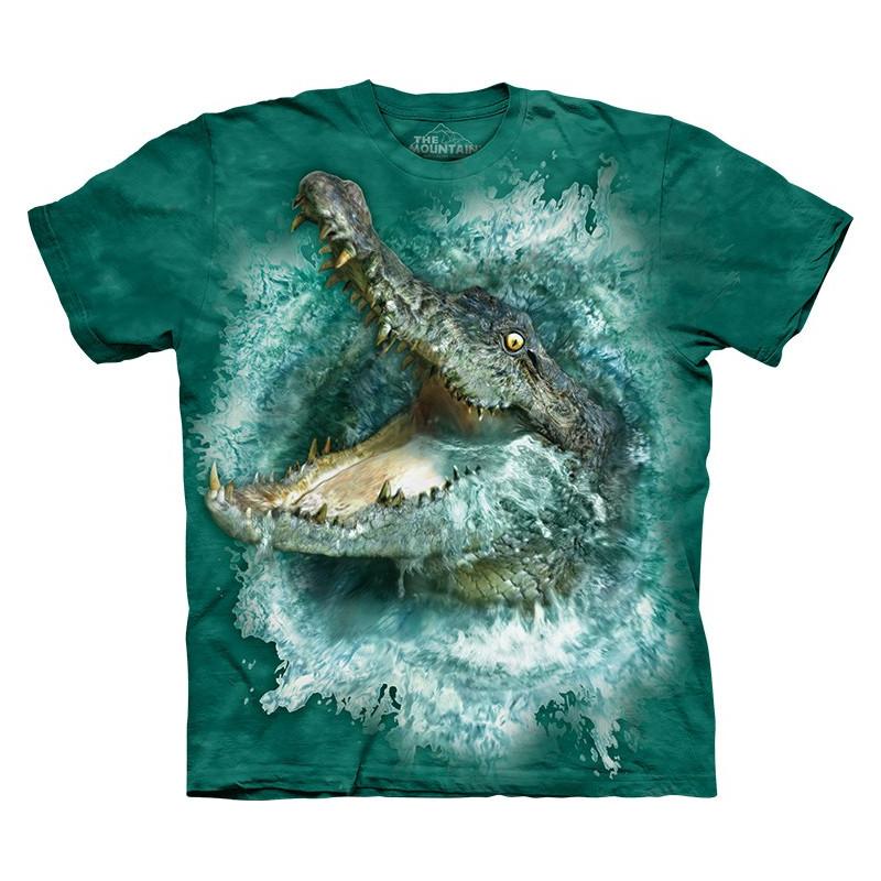 Crocodile Splash T-Shirt - clothingmonster.com
