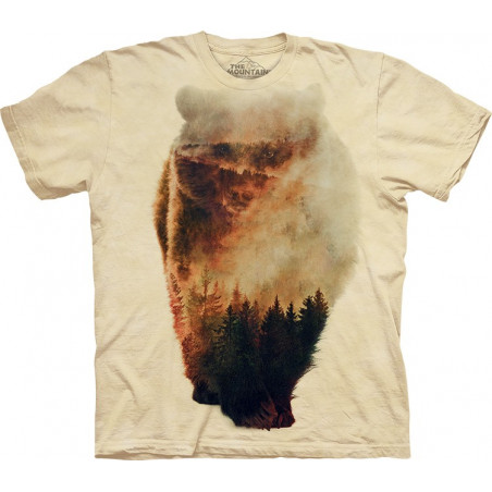 The Mountain Approaching Bear T-Shirt