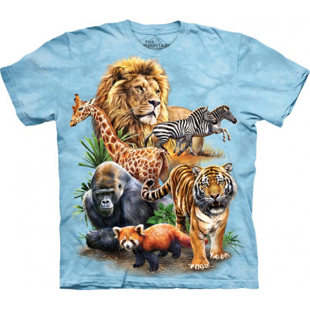 Zoo Collage T-Shirt
