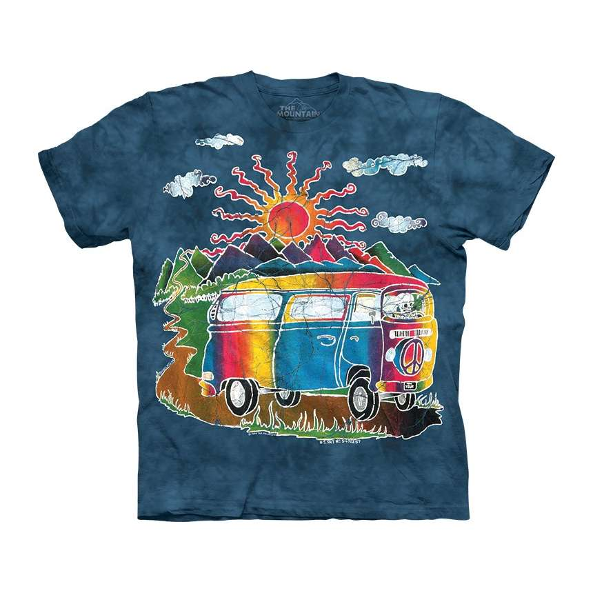 batik tour bus t shirt. Black Bedroom Furniture Sets. Home Design Ideas