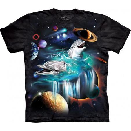 Galaxy Dolphins T-Shirt