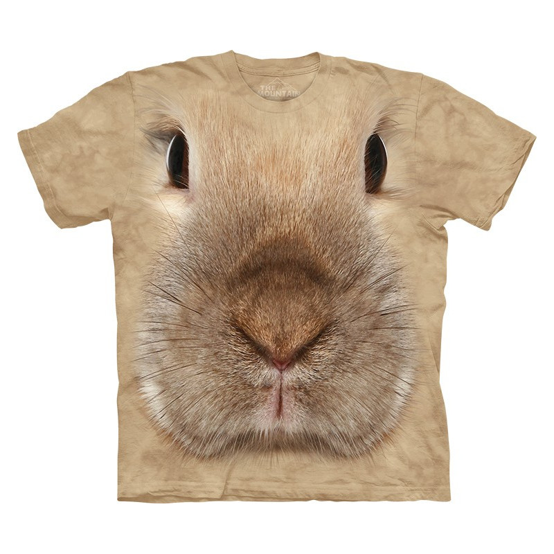 Bunny Face T Shirt The Mountain Clothingmonster Com