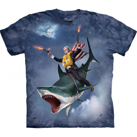 Graphic Dubya Shark T-Shirt
