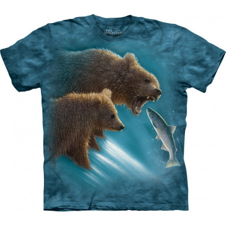 Bears Fishing Lesson T-Shirt