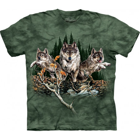 Find 12 Wolves T-Shirt The Mountain