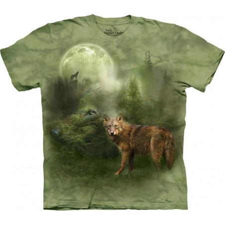 Wolves Forest Spirit T-Shirt