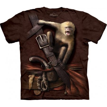 Pirate with Howler Monkey T-Shirt
