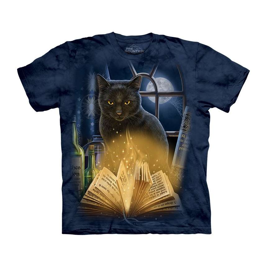 Cat Bewitched T Shirt Clothingmonster Com