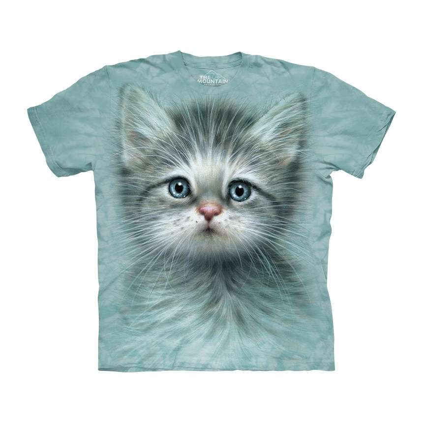 27155f7cbff Funny Big Face 3D Cat T-Shirts   Apparel by The Mountain ...