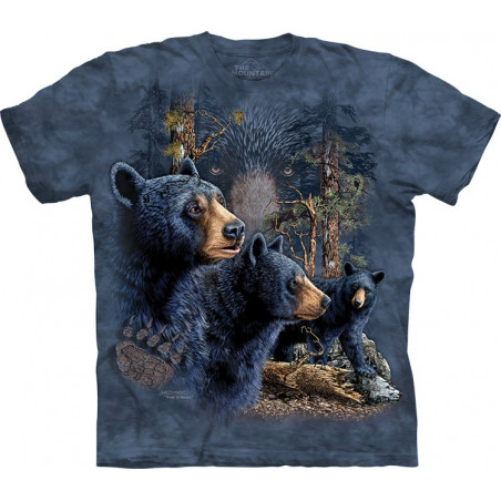 Find 13 Black Bears T-Shirt The Mountain