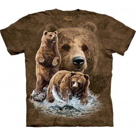 Find 10 Brown Bears T-Shirt The Mountain
