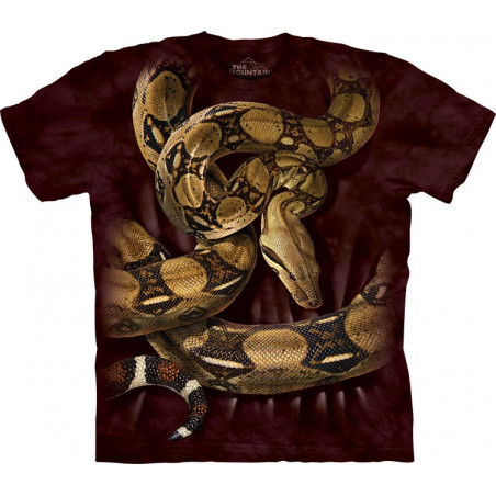 Boa Constrictor Squeeze T-Shirt The Mountain