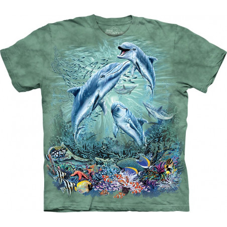 Find 12 Dolphins T-Shirt The Mountain