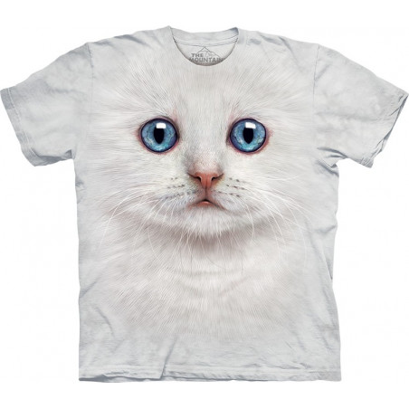 Ivory Kitten Face T-Shirt