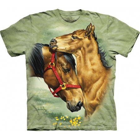Meadow Horses T-Shirt The Mountain