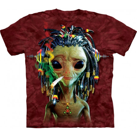 Jammin Alien T-Shirt The Mountain