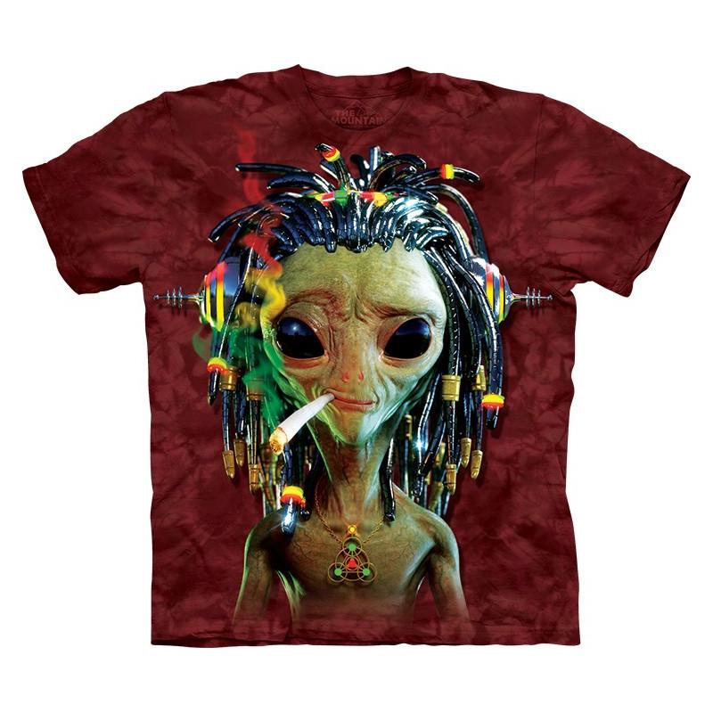 Jammin Alien T Shirt The Mountain Clothingmonster Com