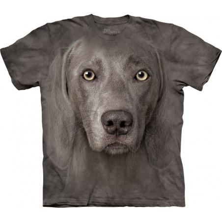Weimaraner T-Shirt The Mountain