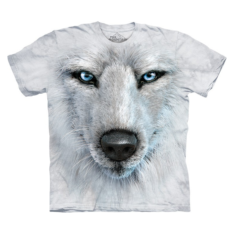 White Wolf Face