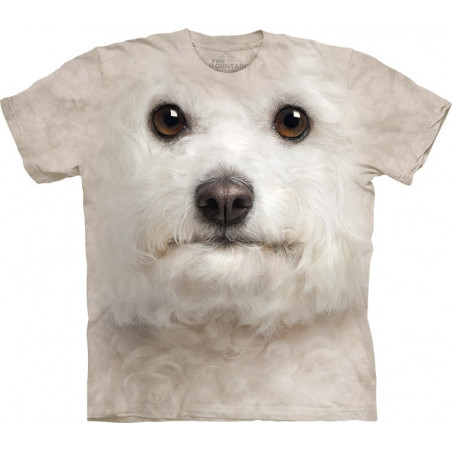 3D Shirts Of Dogs Bichon Frise Face T-Shirt The Mountain