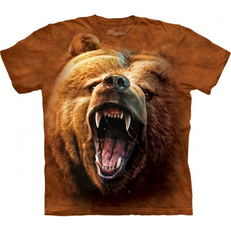 Grizzly Growl T-Shirt The Mountain