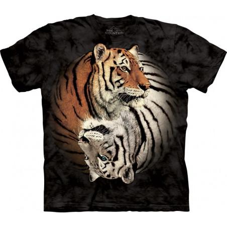 Yin Yang Tigers T-Shirt