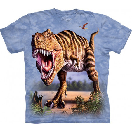 Cool Striped Rex T-Shirt The Mountain