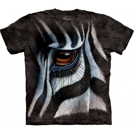 Zebra Eye T-Shirt The Mountain