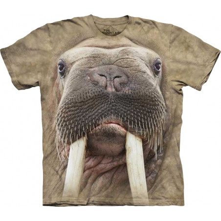 Walrus Face T-Shirt The Mountain