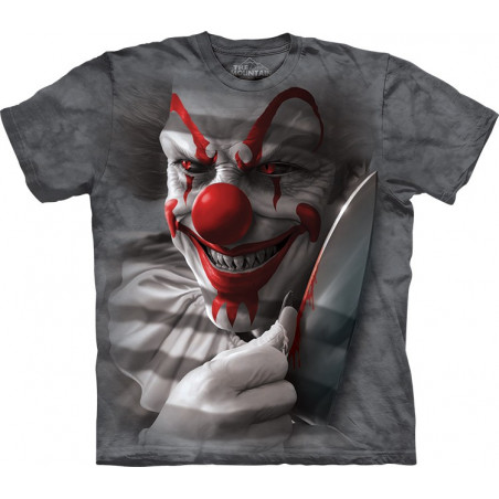 Graphic Clown Cut T-Shirt
