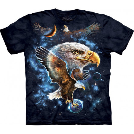 Cosmic Eagle T-Shirt The Mountain
