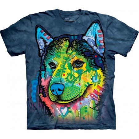 Dog Siberian Front T-Shirt