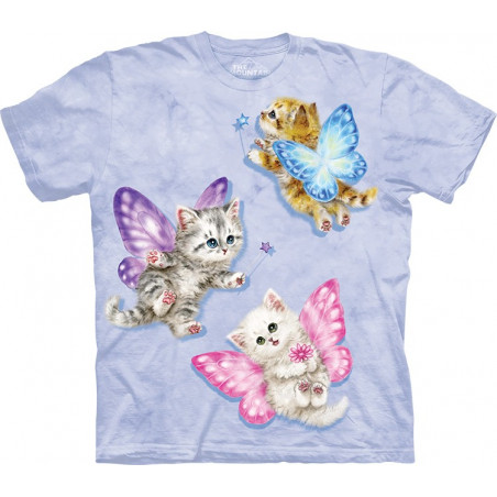 Butterfly Kitten Fairies T-Shirt