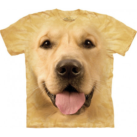 Smiling Golden Retriever T-Shirt