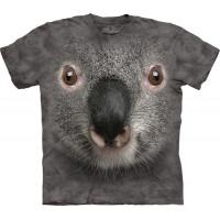 Grey Koala Face