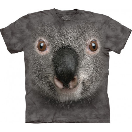 Grey Koala Face T-Shirt
