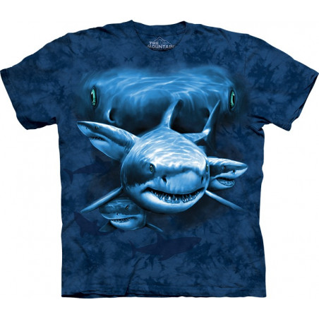 Shark Moon Eyes T-Shirt The Mountain