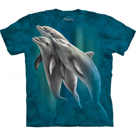 Three Dolphins T-Shirt The Mountain