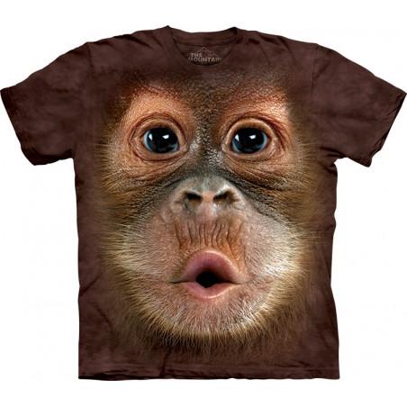 Big Face Baby Orangutan T-Shirt The Mountain