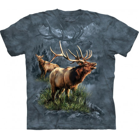 Elk Protector T-Shirt The Mountain