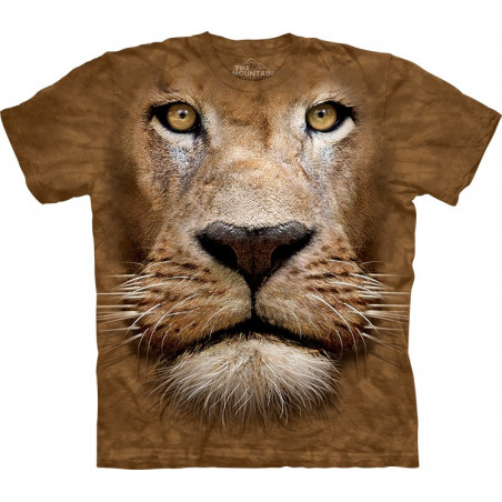 Lion Face T-Shirt The Mountain