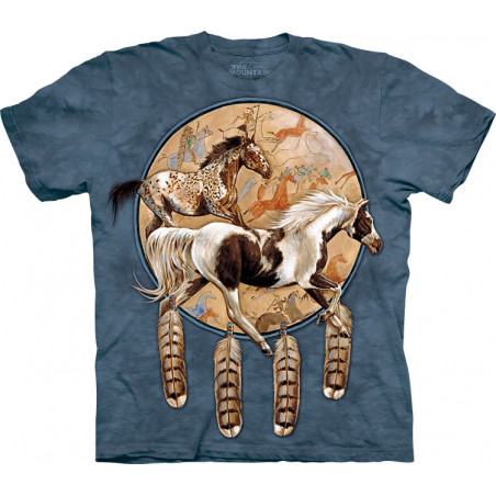 Horses Soquili Shield T-Shirt The Mountain