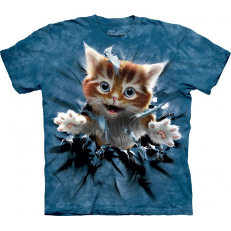 Ginger Kitten Breakthrough T-Shirt The Mountain